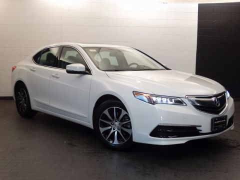 Certified Pre-Owned 2016 Acura TLX 2.4 8-DCT P-AWS FWD 4D Sedan