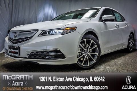 New 2016 Acura TLX 3.5 V-6 9-AT P-AWS with Technology Package With Navigation