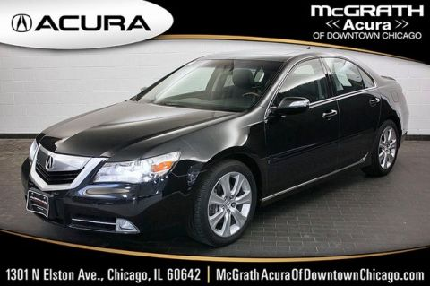 Pre-Owned 2009 Acura RL 3.7 AWD
